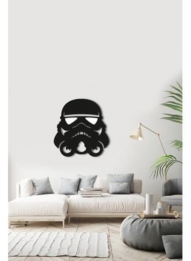 Angemiel Home Darth Vader Metal Duvar Tablosu Siyah